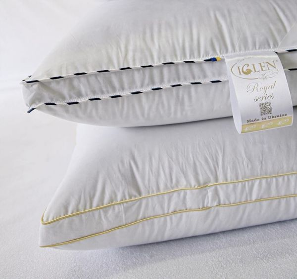 Подарунковий комплект Climate-comfort Royal Series сірий пух