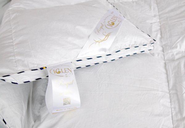Ковдра Royal Series ROSTER з сірим пухом